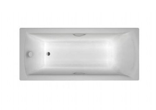 Carron Delta 1600 x 700mm Twin Grip, Single Ended Bath